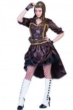 Costume Steampunk Donna