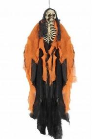 Scheletro da appendere 60 cm arancio