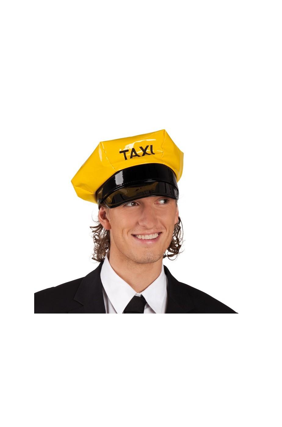 Cappello taxy giallo in plastica