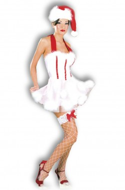 Costume Abito Sexy Babba Natale