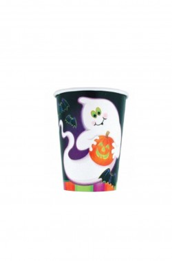 Bicchieri di carta party Halloween, 266 ml 10 pezzi