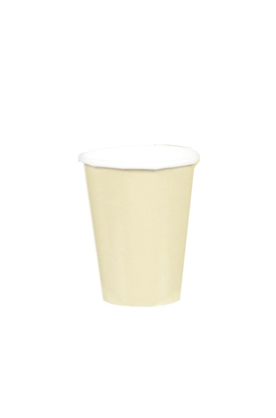 Set 10 bicchieri in carta  party vaniglia ml 266