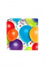 Palloncini stelle party Piatti in carta (8pzx18cm)