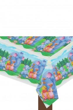 Tovaglia party carta Disney 12Whinnie the Pooh cm1,80x1,20