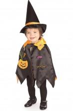 Costume carnevale Bambino Strega Zucchetta