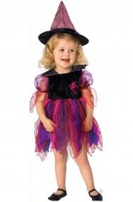 Costume carnevale Bambina Strega Arcobaleno