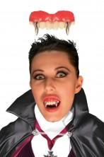 Dentiera rigida vampiro o mostro o Lican solo sopra + 14 anni con bicomponente