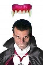 Dentiera rigida vampiro con canini lunghi