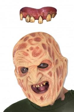 Dentiera Freddy Krueger con bicomponente