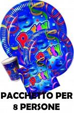 Palloncini Party pacchetto tavola per 12 persone