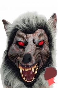 Maschera lupo in lattice adulto