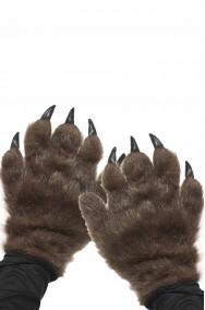 Guanti Mani da lupo marroni