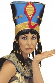 Cappello egiziana Cleopatra Nefertari Nefertiti