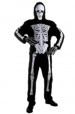 Costume uomo scheletro