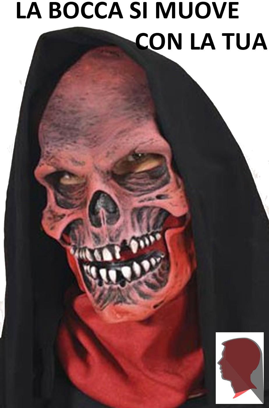 maschera bocca halloween