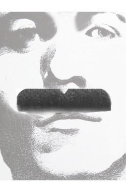 Baffi finti a spazzola neri Gent Menjou