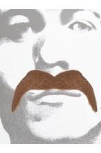 Trucco: Baffi da Cowboy o messicano Marroni