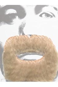 Trucco: Barba e baffi pizzetto stile pirata o messicano biondi