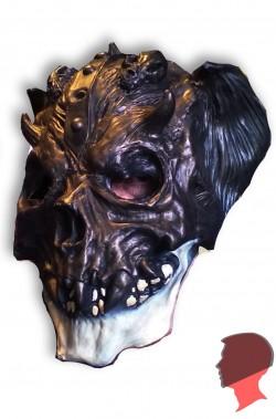 Maschera teschio guerriero demone