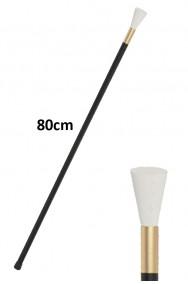 Bastone dandy anni 20 o 800 in plastica rigida circa 80 cm
