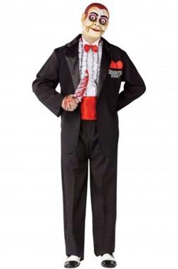 Costume uomo ventriloquo horror dal Film Dead silence