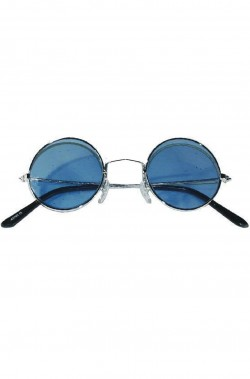 Occhiali anni 70 John Lennon blu