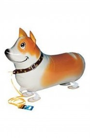 Animaletto gonfiabile che cammina: cagnolino pinscher
