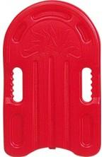 Tavola tavoletta da nuoto in plastica 45cm rossa