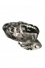 Cappello strillone Anni 70 donna argento