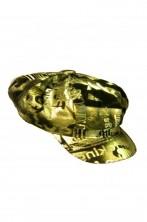 Cappello Strillone Anni 70 donna oro
