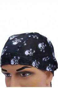 Bandana Pirata con teschi da annodare
