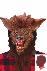 Maschera lupo mannaro bestia Lycan in gomma