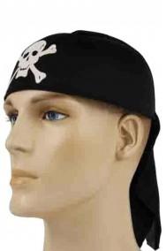 Bandana pirata con teschio