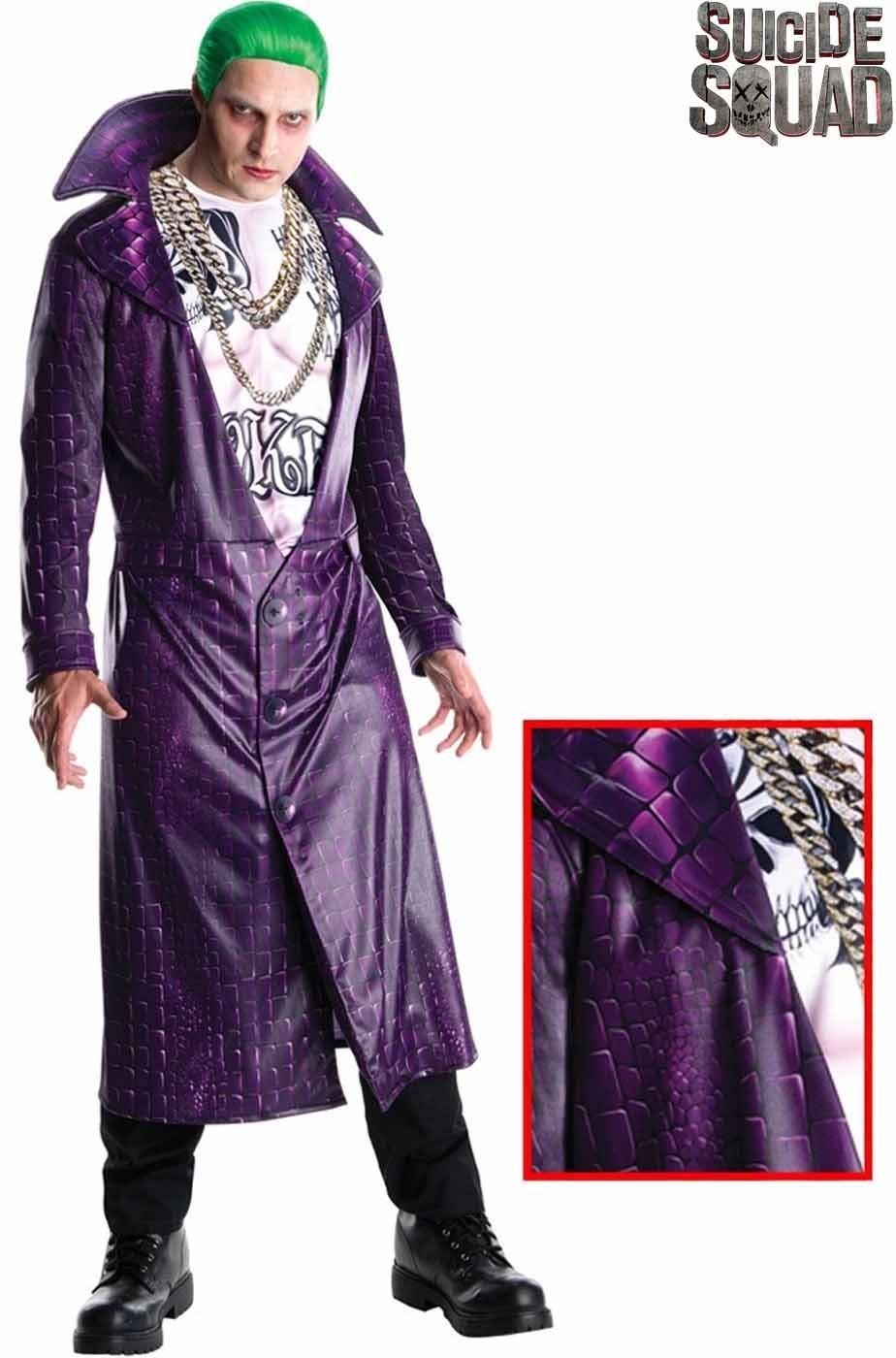 Adulto In Di Leto Costume Joker Suicide Squad Jared LGpqVzSUM