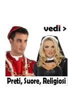 Costumi prete,suora,papa,vescovo,chierichetto