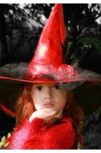 Vestiti e cappello da strega