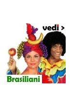 Vestiti e parrucche da Brasiliani e Brasiliane per carnevale e per feste a tema