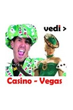 Vestiti ed accessori a tema Casino e Las Vegas