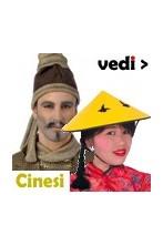 Vestiti di carnevale da Cinese, cinesina, guerriero della cina