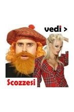 Costumi, Cappelli Tam O' Shanter, accessori scozzesi