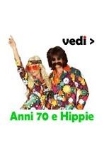 Vestiti e costumi Anni 70 online, vestiti hippie style, parrucche, collane, occhiali