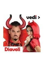 Vestiti da diavolo, diavoletta, demone e diavolessa adulto e bambino