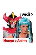 Vestiti e maschere Manga Anime e Cartoni giapponesi da cosplay