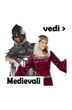 Costumi, maschere, accessori per travestimenti e feste medievali