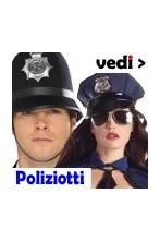 Costumi di carnevale da Poliziotto Poliziotta e Carcerato