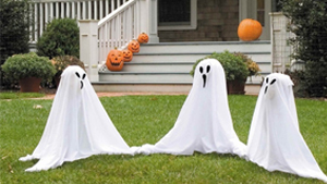 L'immagine mostra una decorazione per Halloween 2020