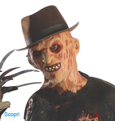 La foto mostra il protagonista di Nightmare Freddy Kruger