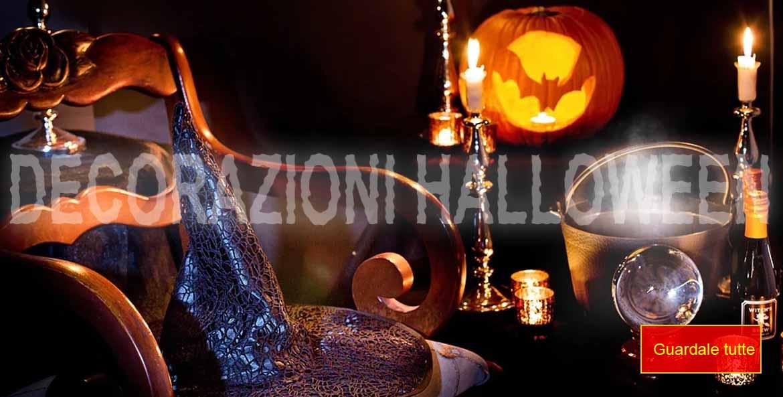 la foto mostra alcune decorazioni per la festa di Halloween