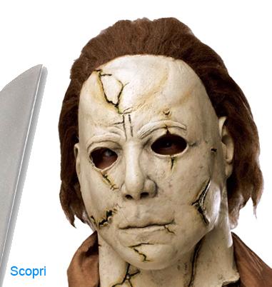 La foto mostra il protagonista di Halloween Michael Myers