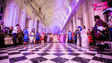 Foto del Ballo in Maschera a La Nuit Royale di Venaria Reale